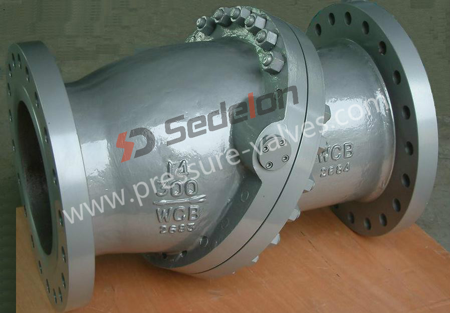 Sedelon® Tilting Disc Check Valve