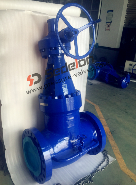 Special design--Class600 Self Sealing Globe Valves