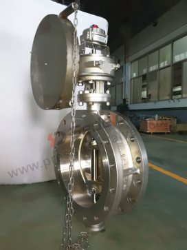 Sedelon ® Super Duplex Stainless Steel Butterfly Valve.