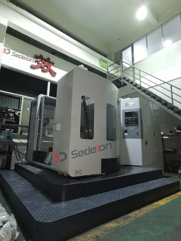 Sedelon's New Machine-vertical Machining Center