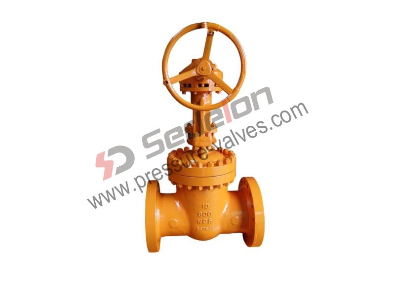 Gear Operated Gate Valve