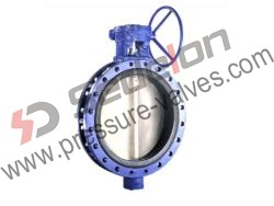 Gear Open Butterfly Valves